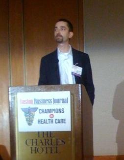 Ben Heywood at Boston Business Journal