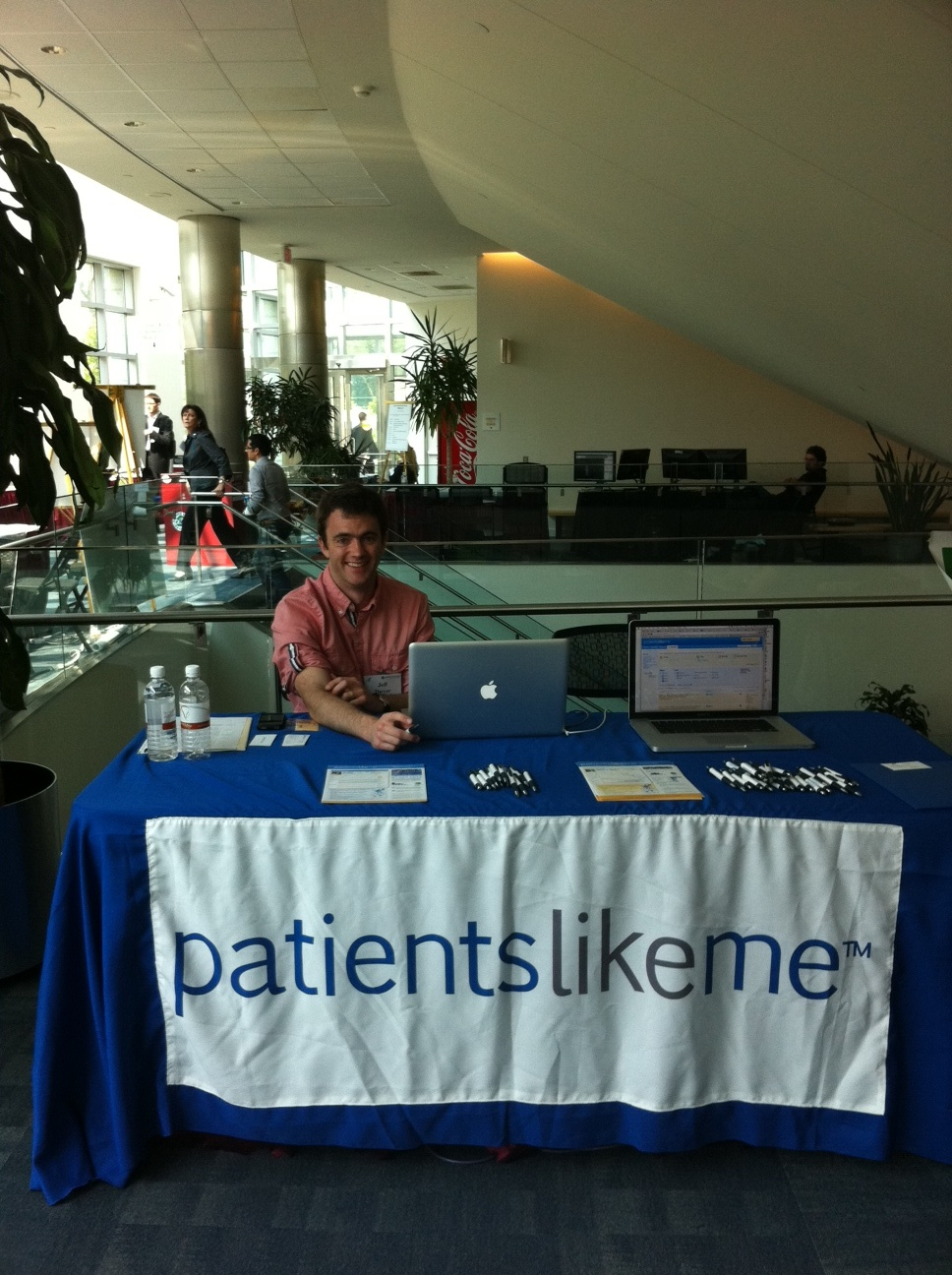 Software Engineer Jeff Dwyer at the 2nd Annual Health Data Initiatives Forum