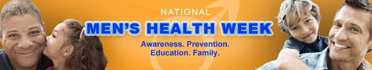 National Men's Health Week