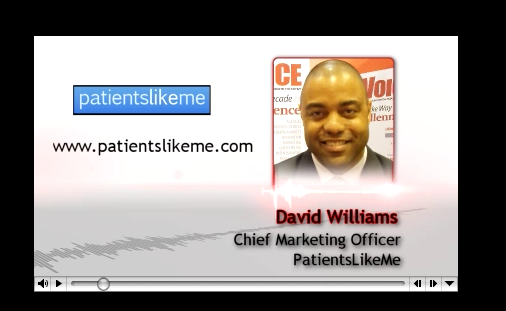 PharmaVOICE Podcast Featuring PatientsLikeMe's David S. Williams III and BBK's Bonnie Brescia