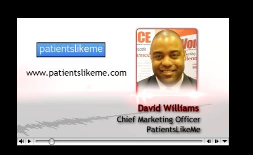 PharmaVOICE Podcast Featuring PatientsLikeMe's David S. Williams III and BBK's Bonnie Brescia