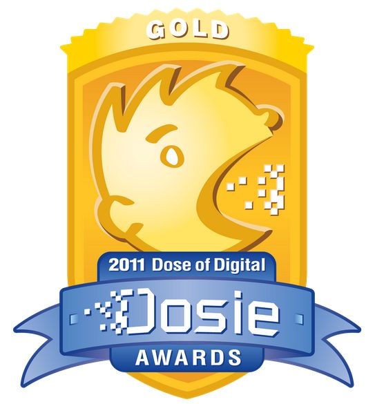 "2011 Judges' Choice Gold Dosie Award, which PatientsLikeMe received for ""Best Patient Community (Non-Brand Controlled)"""
