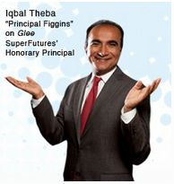 "Win a lunch and mentoring session with Iqbal Theba, who plays Principal Figgins on ""Glee"""