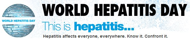 World Hepatitis Day Is July 28, 2011
