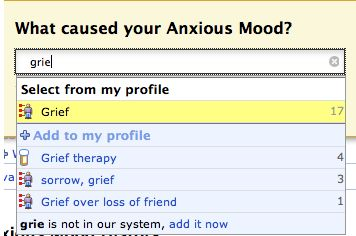 New Feature That Allows You to Indicate What Caused Your Symptoms or Side Effects