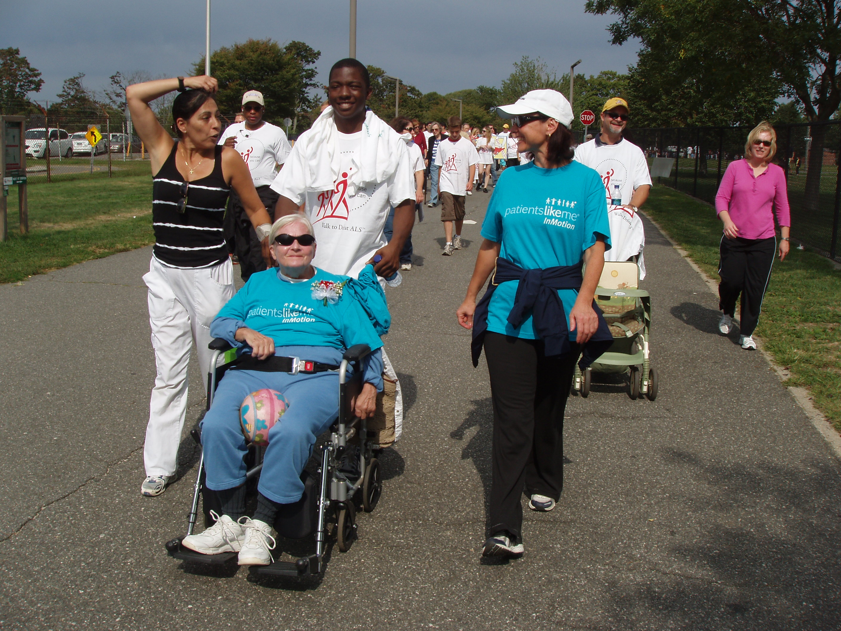 Power Mom's Team at the Walk to Defeat ALS in Long Island, NY