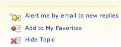 Hide Topics by Clicking This Button