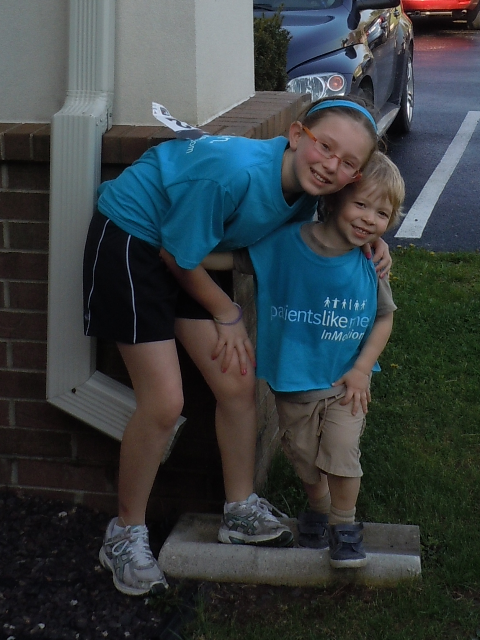 Youthful Supporters 2011 Walk MS Event in Springfield, Missouri
