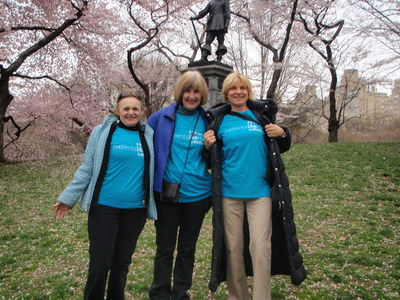 Judith and Team Members at the 2011 Parkinson's Unity Walk