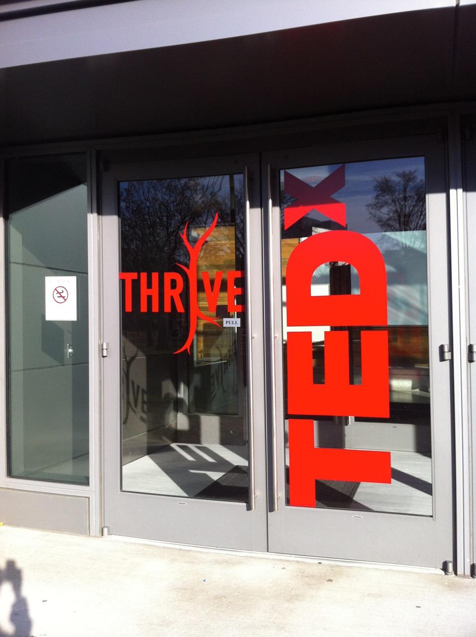 The Entrance to TEDx Cambridge 2011