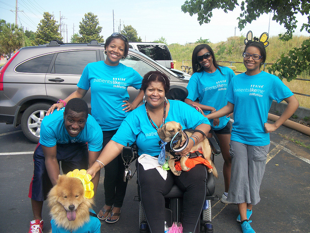 Hotmama08 and Team at Walk MS 2011 in Columbia, SC, One of 600 Such Walks Across the Country