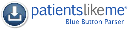 Download the PatientsLikeMe Open Source BlueButton Parser