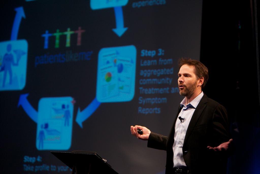 PatientsLikeMe Co-Founder Jamie Heywood at the Personalized Medicine World Conference