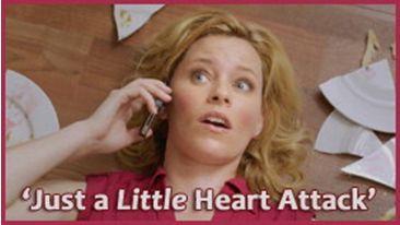 "Elizabeth Banks in ""Just a Little Heart Attack"""