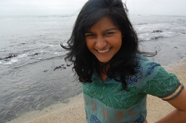 PatientsLikeMe Research Assistant Shivani Bhargava at Moss Beach, California