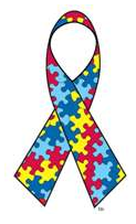 Click Here to Order Your Own Autism Awareness Puzzle Ribbon (or Postage Stamps!)