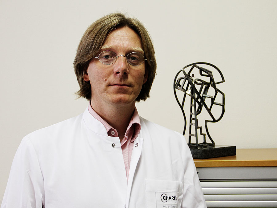 Dr. Thomas Meyer, Neurologist at Charite University Hospital in Berlin