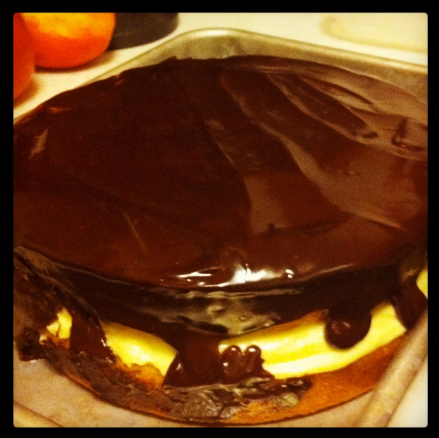 Maureen's Famous Boston Cream Pie