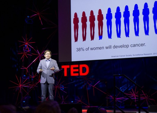John Wilbanks Speaking at TED Global.  Photo Credit:  James Duncan Davidson.