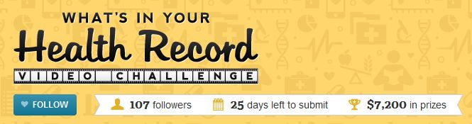 What's in Your Health Record?  Get the Full Contest Guidelines and Details Here.