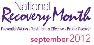 National Recovery Month Takes Places Every September