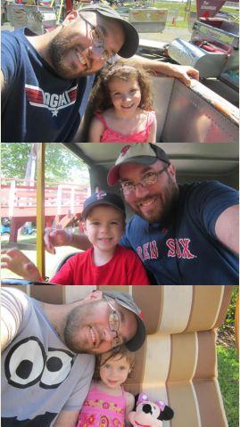 PatientsLikeMe Web Developer Adam Darowski with Each of His Kids