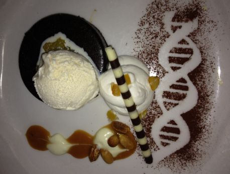 Even the Dessert Made You Think About Your DNA and the Impact of Genetics at the 1st Annual Tribute to Champions of Hope Gala