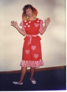 Bev Performing as Daisy Jane, the Niece of Minnie Pearl