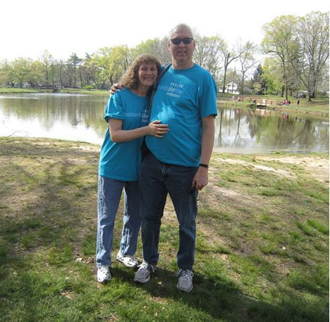 Judy and Jim at the 2012 Walk MS Event in Cranford, NJ