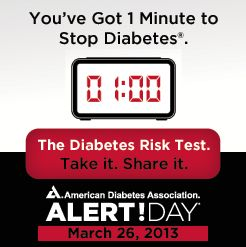 National Diabetes Alert Day 2