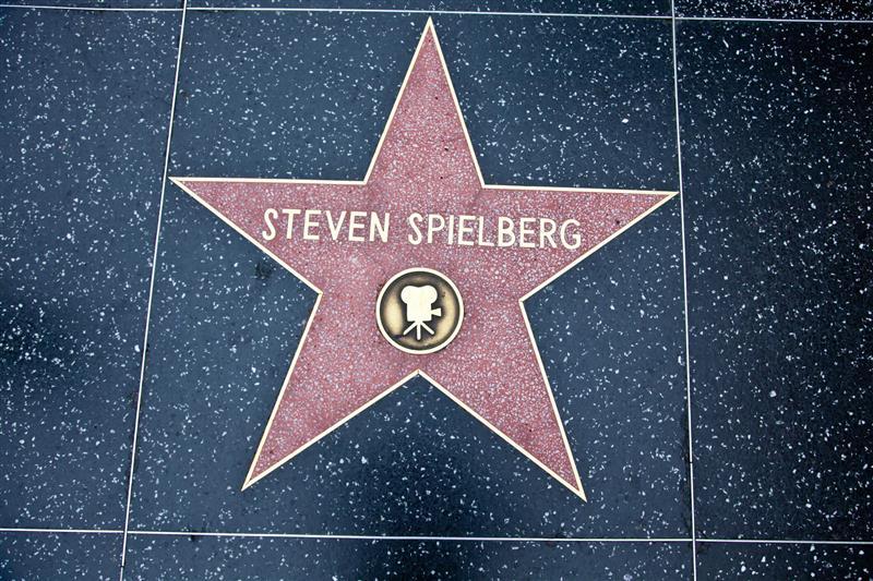 Famous people with kidney disease - Steven Spielberg Walk of Fame star