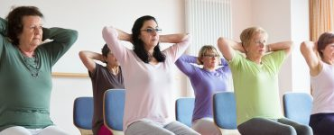 cancer patients chair yoga